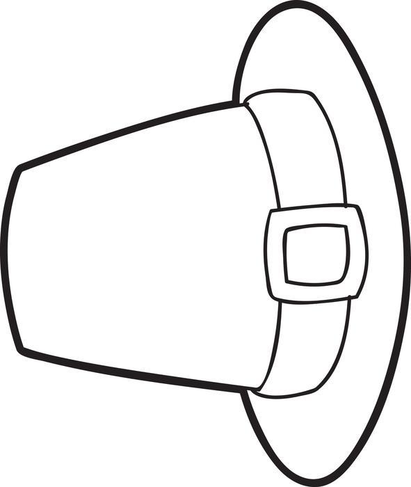 Pilgrim Hat Drawing at GetDrawings   Free download