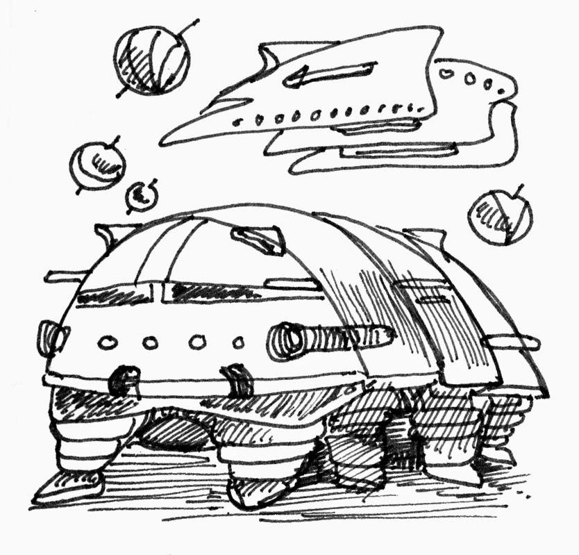 834x799 Art By Products Pill Bug War Wagon