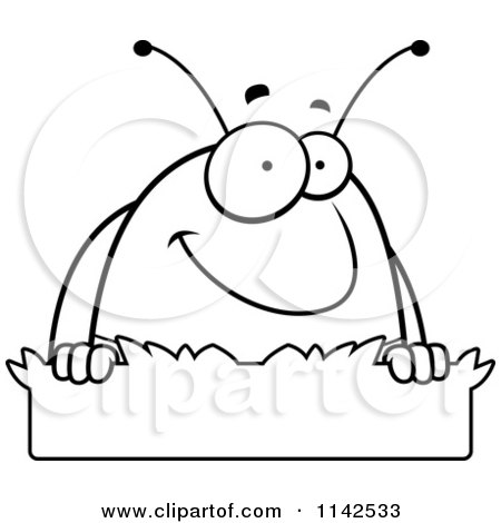 450x470 Royalty Free (Rf) Clipart Illustration Of A Pill Bug With An Idea