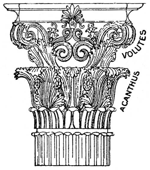 500x569 Greek Architecture Columns Greek Columns Greek Columns 3 Column
