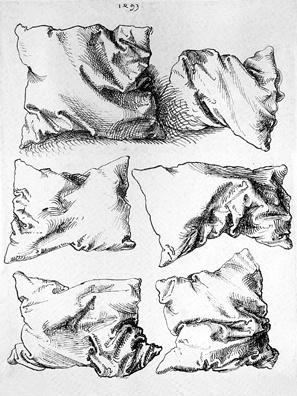 297x396 Wonderful Pillow Drawings By Albrecht Durer
