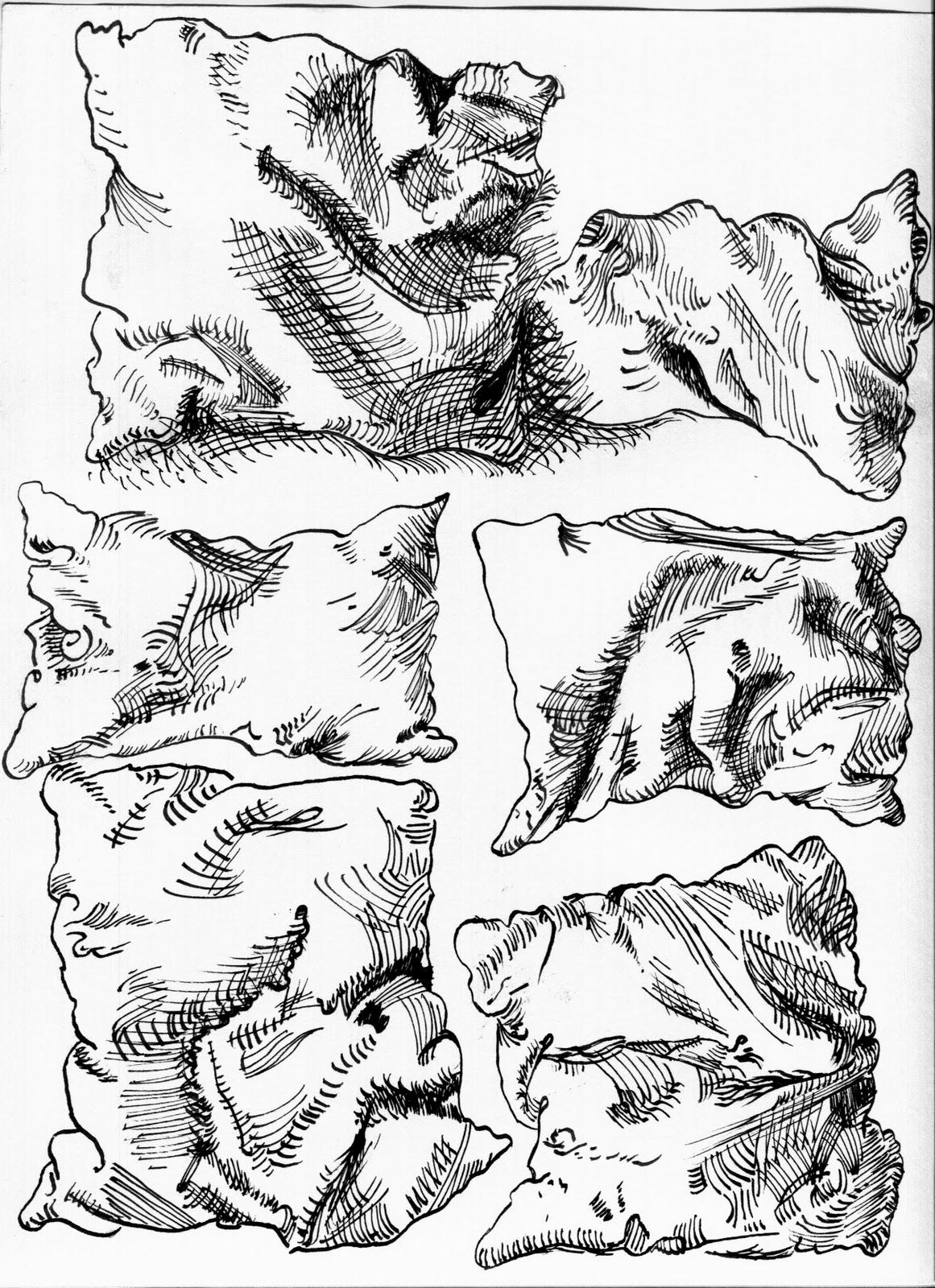1161x1600 Albrecht Durer, Six Pillows. 1493 Ourdailyawesome