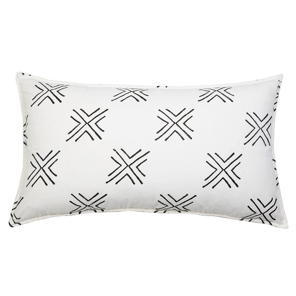 1000x1000 Arrow Pillow 20 X 36 With Insert Arrow Pillow
