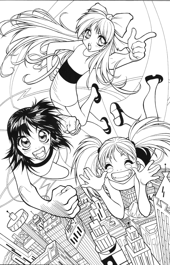 708x1100 Powerpuff Girls Pinup By Adamwarren