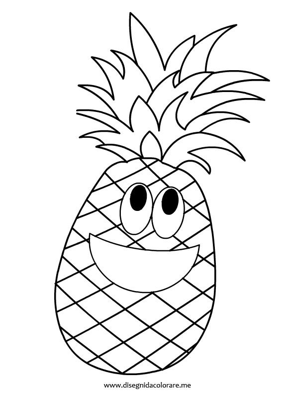 Pine Apple Drawing at GetDrawings.com | Free for personal use Pine ...