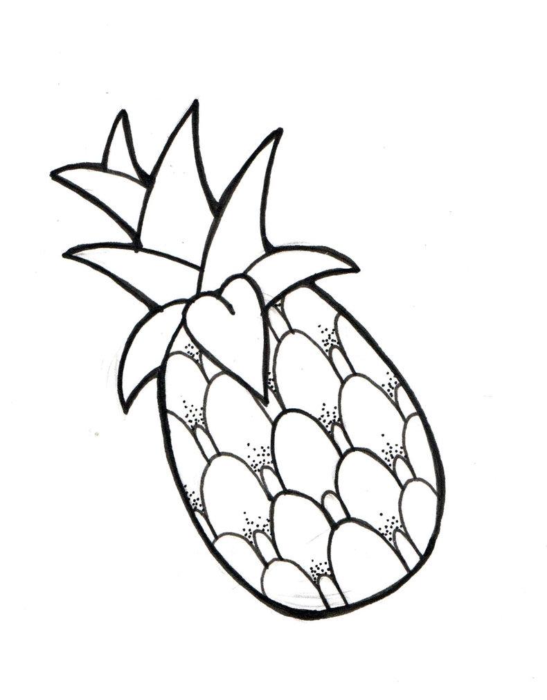 790x1010 Pineapple By Makipony