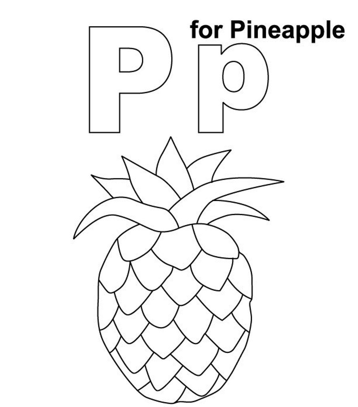 1157x1312 Coloring Pages Stunning Pineapple Coloring Page Fruit Pages