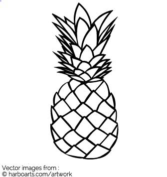 335x355 Download Hand Drawn Pineapple