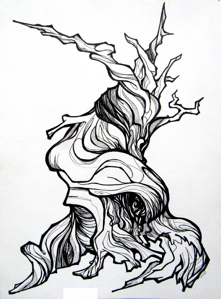 900x1218 Bristle Cone Pine By Applecorekevin
