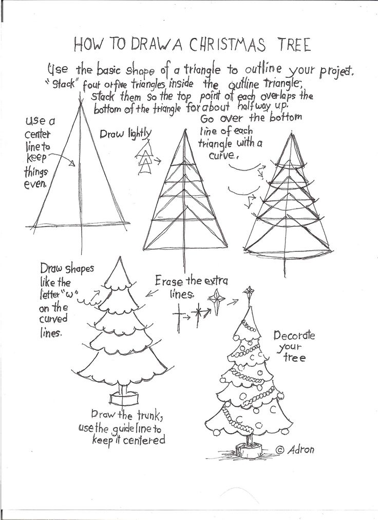 736x1012 199 Best Drawing Tutorials Christmas Images On How