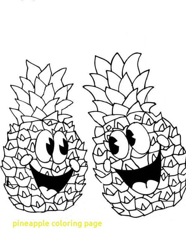 Pineapple Line Drawing at GetDrawings.com   Free for personal use ...