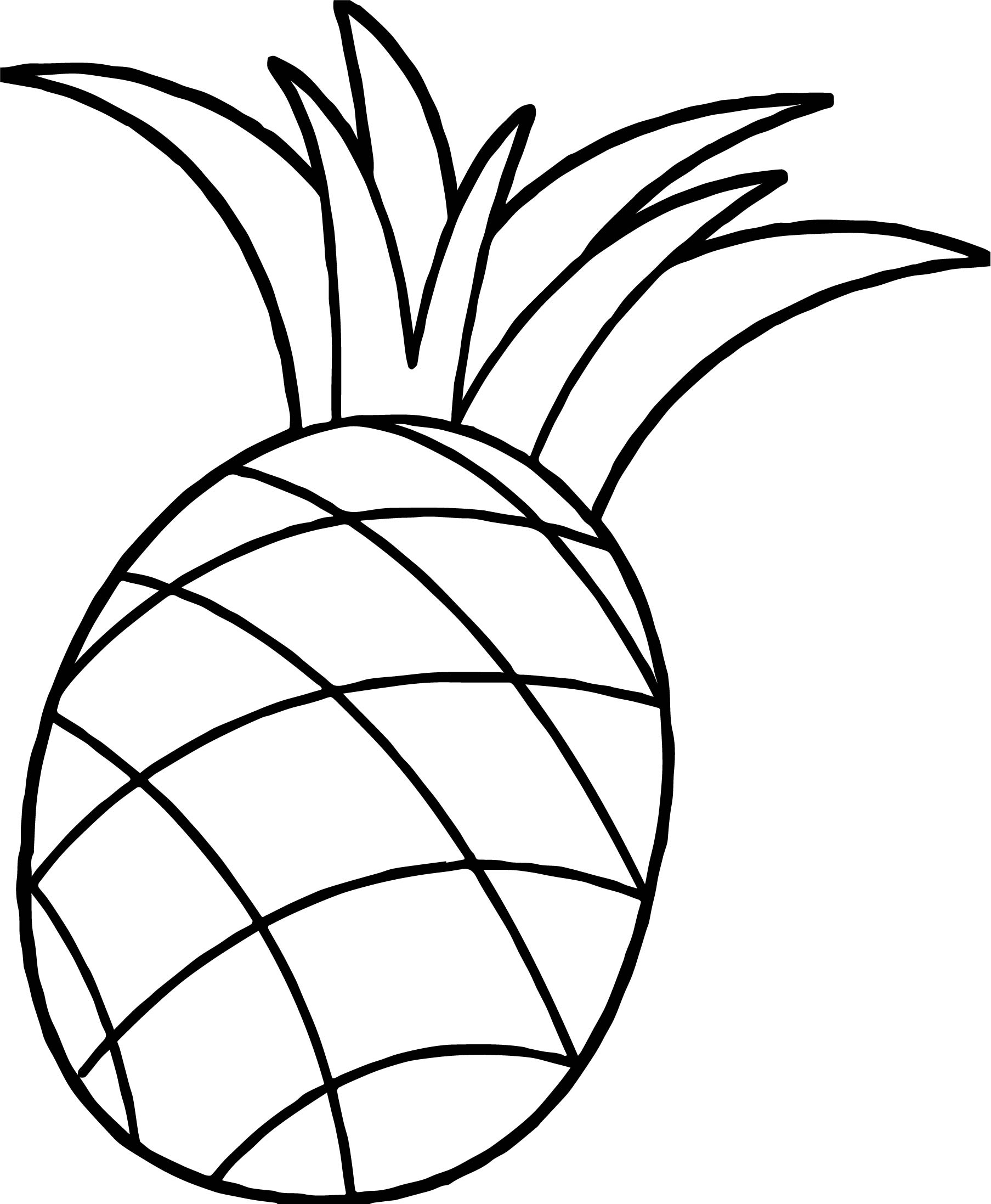 Pineapples Drawing at GetDrawings   Free download