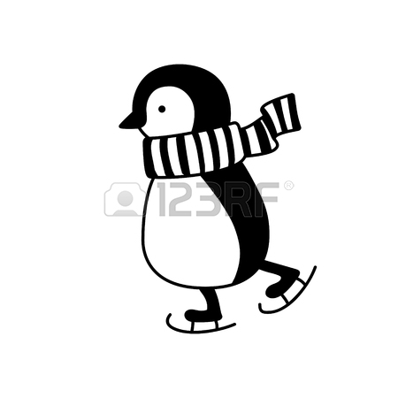 Pinguin Drawing