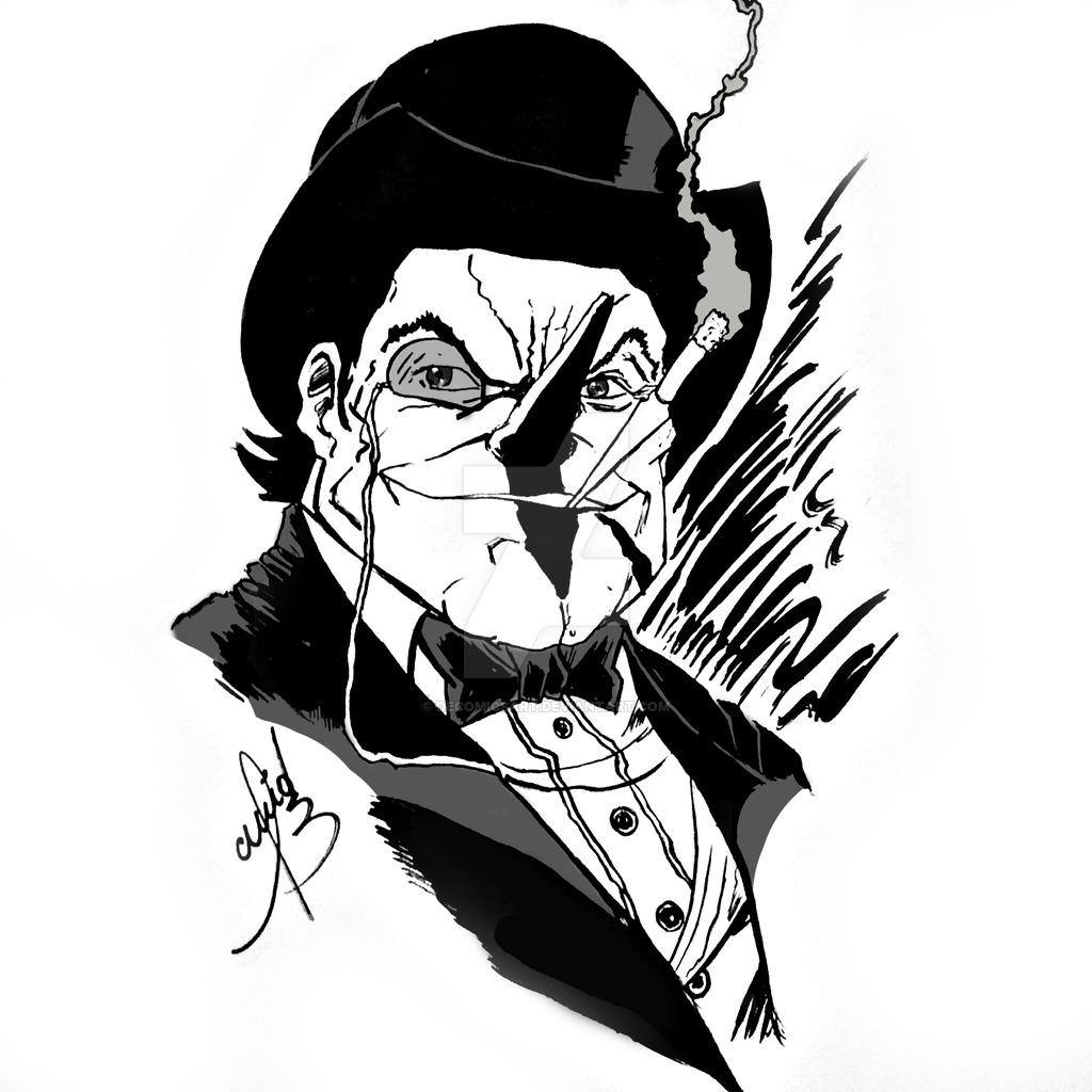 1024x1024 The Pinguin By Decomicsart