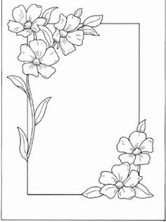 236x315 Simple Daisy Drawing Free Flower Templates And Designs Crafts