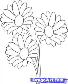 236x291 Daisy Flower, Daisy Flower Outline Coloring Page Stencils