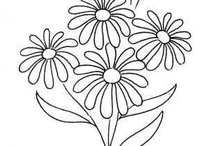 300x210 Daisy Flower Drawings How To Draw A Simple Flower