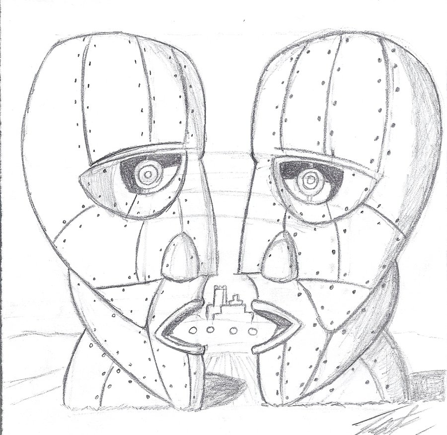900x876 Pink Floyd Coloring Pages More Like Mortal Kombat 9