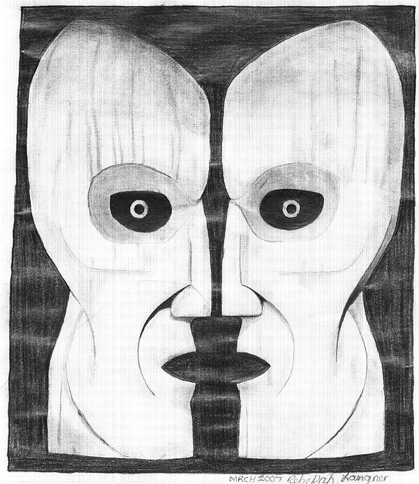 600x694 Pink Floyd Symbol Drawing By Zecky Langner
