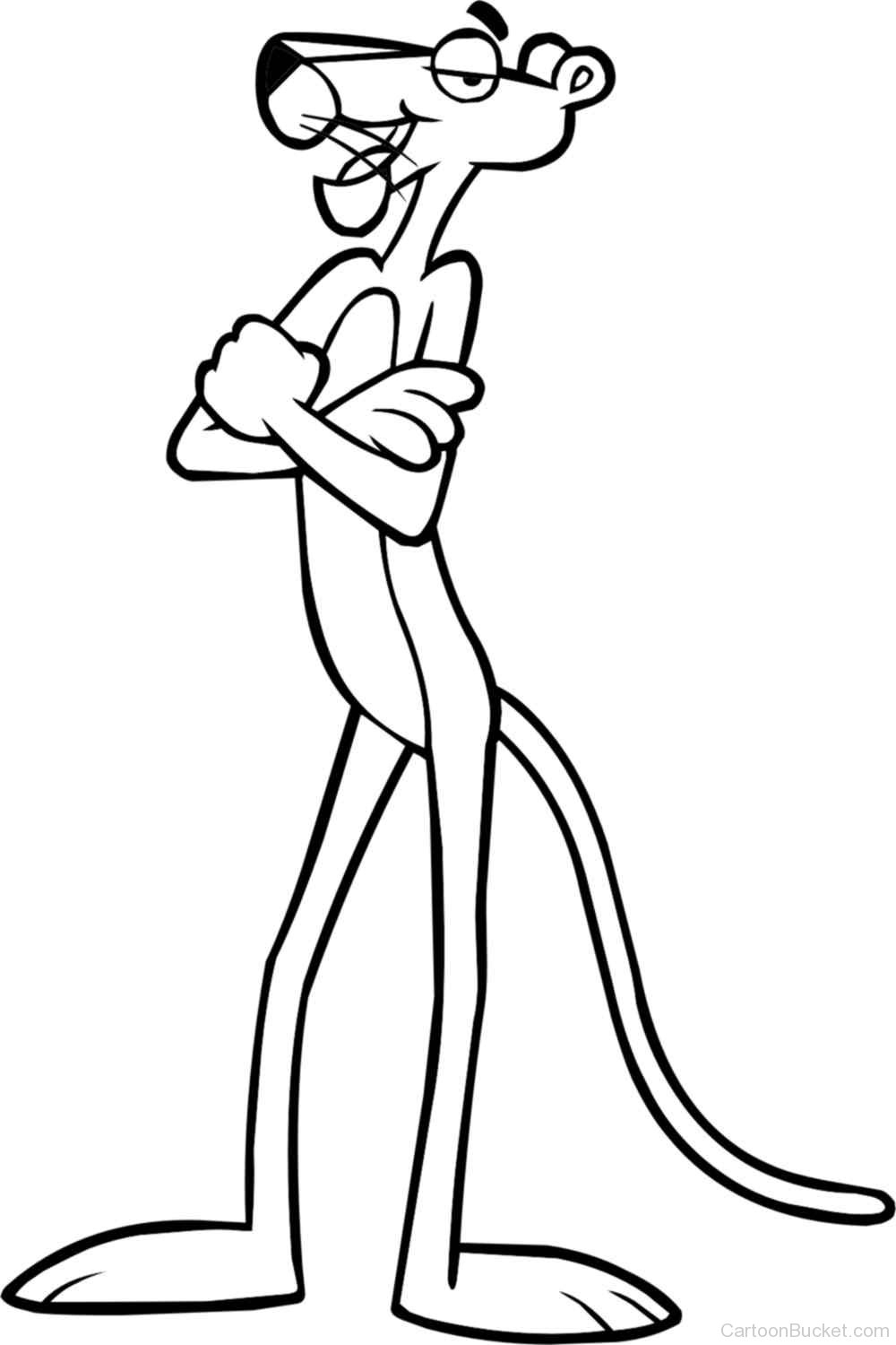 1000x1500 Pink Panther Cartoon Drawing