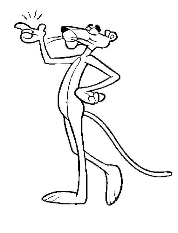 the pink panther coloring pages - photo#14