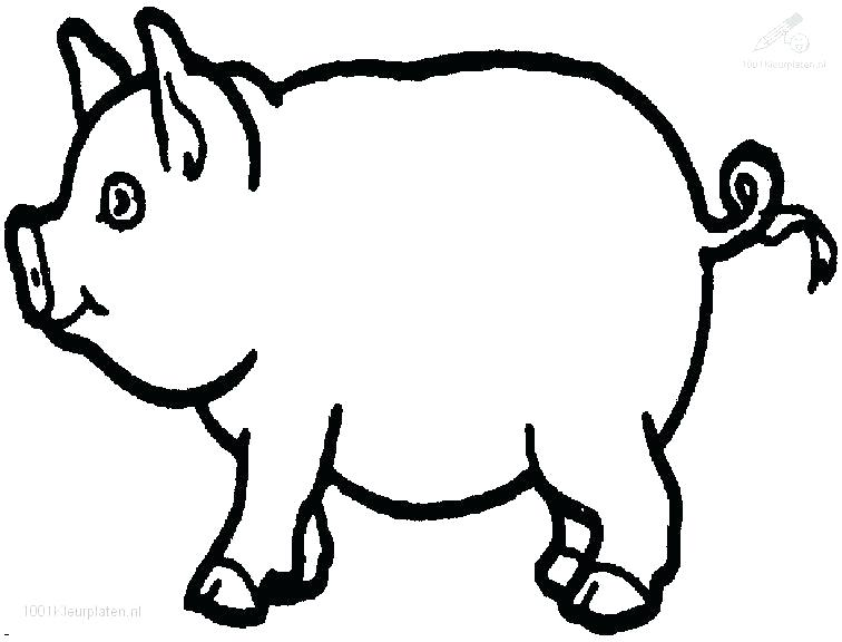 756x576 Pig Coloring Pictures Pink Pig Coloring Page Peppa Pig Colouring