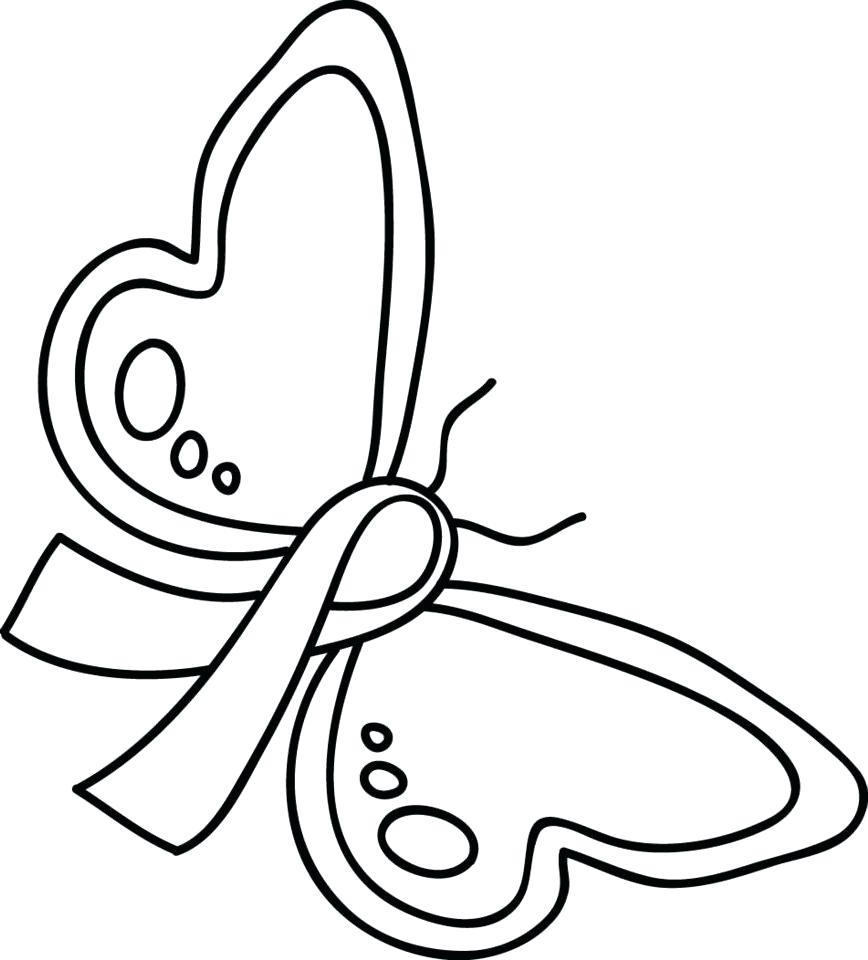 868x960 Coloring Pink Ribbon Coloring Pages