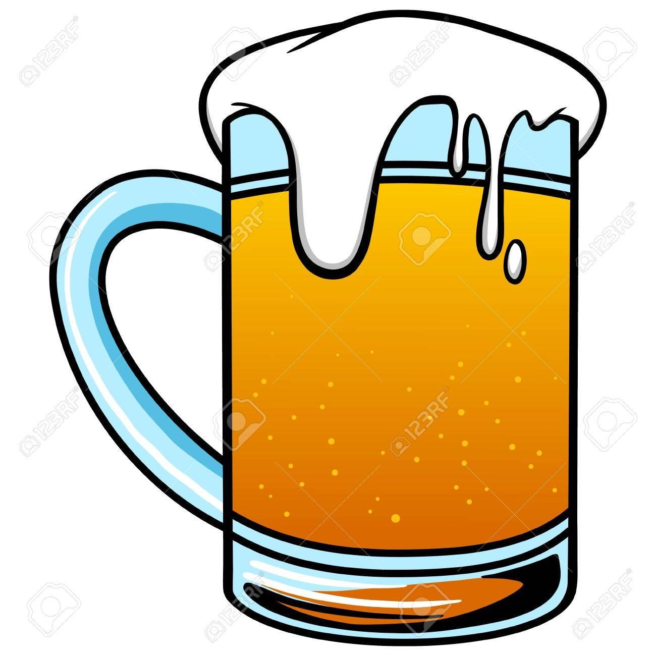 1300x1300 Mug Of Beer Royalty Free Cliparts, Vectors, And Stock Illustration