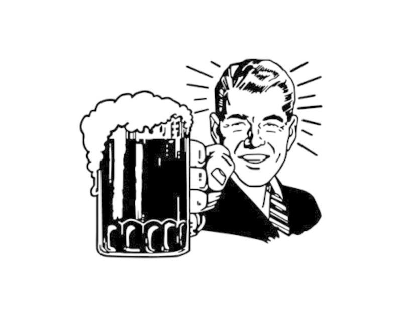 800x640 Beer Pint Clipart