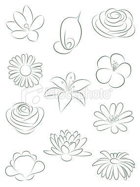 285x380 Lofty Ideas Draw Easy Flowers Best 25 Simple Flower Drawing