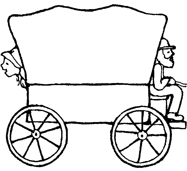 pioneer wagon drawing at getdrawings com free for personal use rh getdrawings com covered wagon clipart black and white covered wagon clipart images