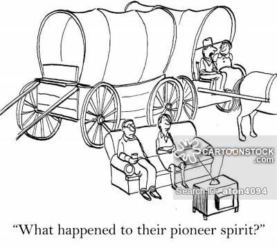 400x359 Pioneering Spirit Cartoons And Comics