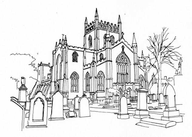 632x452 Dunfermline Abbey Parish Church