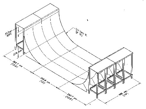 494x369 Half Pipe Plans Free Skateboard Ramp Plans Pipes