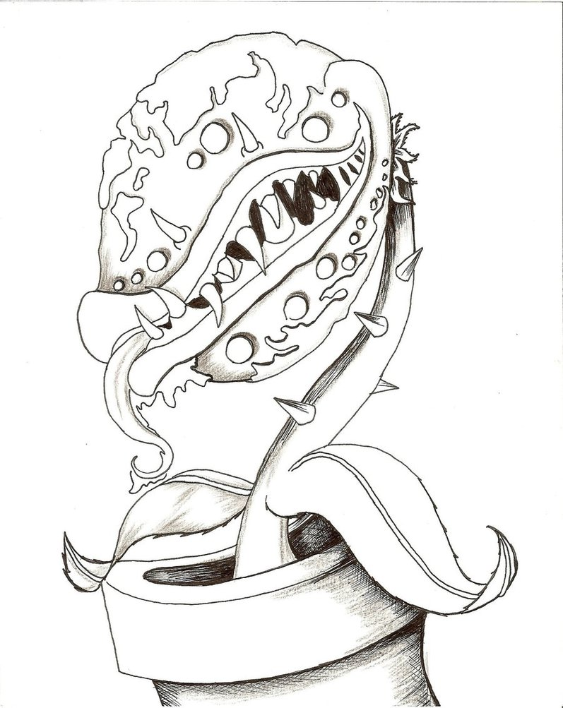 Piranha Drawing at GetDrawings.com | Free for personal use Piranha ...