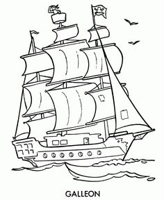 236x288 Historical Sailing Ships And Boats Coloring Pages Boating