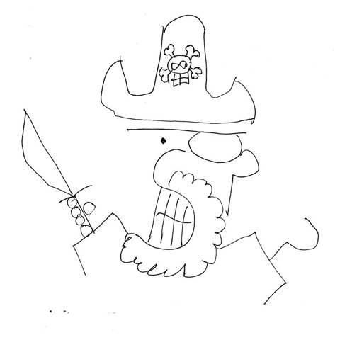 480x480 How To Draw A Cartoon Pirate Results