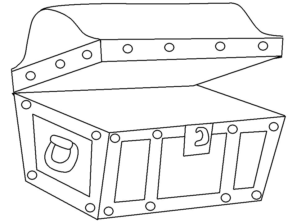 Pirate Chest Drawing at GetDrawings.com | Free for personal use ...