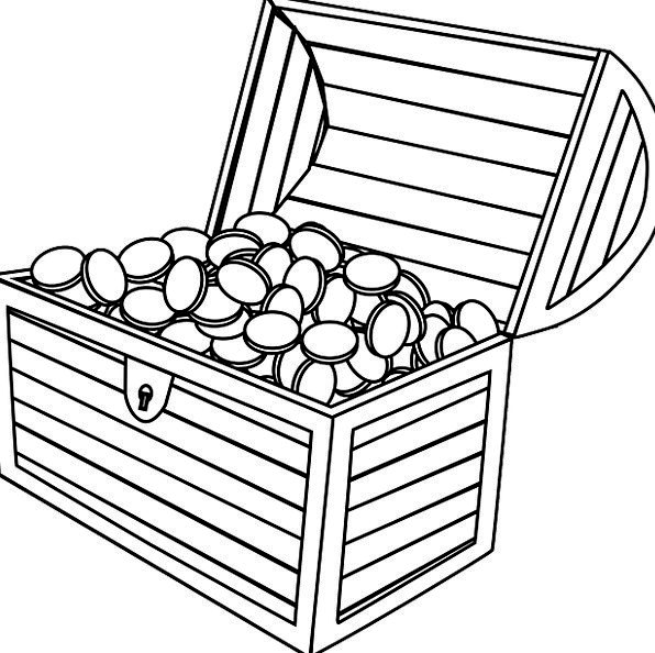 596x594 Treasure Chest, Chest, Finance, Changes, Business, Open, Exposed