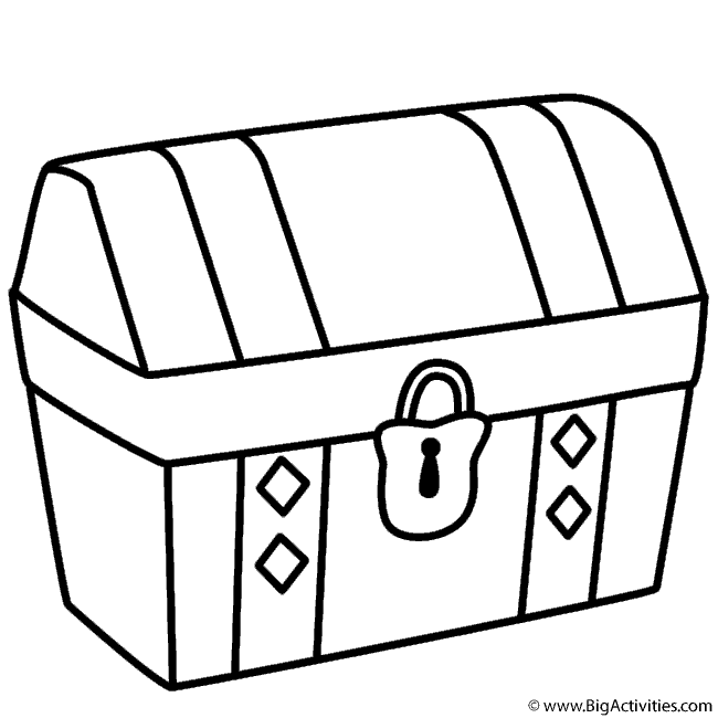 pirate chest drawing at getdrawings com free for personal use