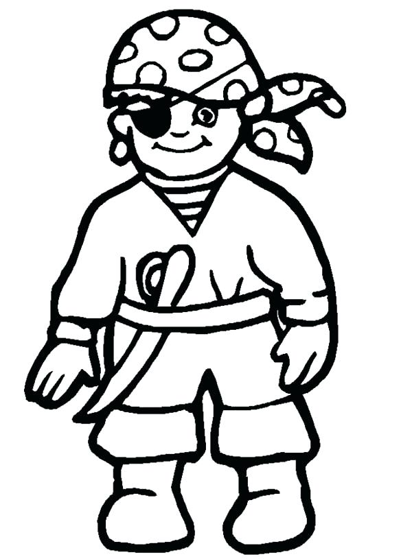 600x815 Pirate Coloring Pages Printable Drawing Little Pirate Coloring
