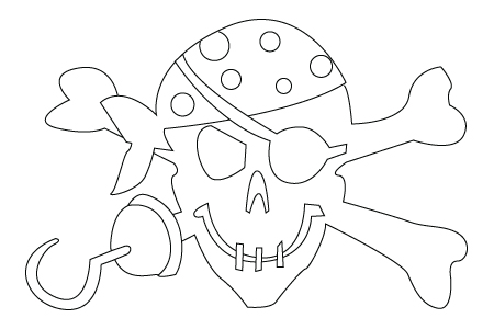 450x300 Pirate Drawing Childrens Drawings
