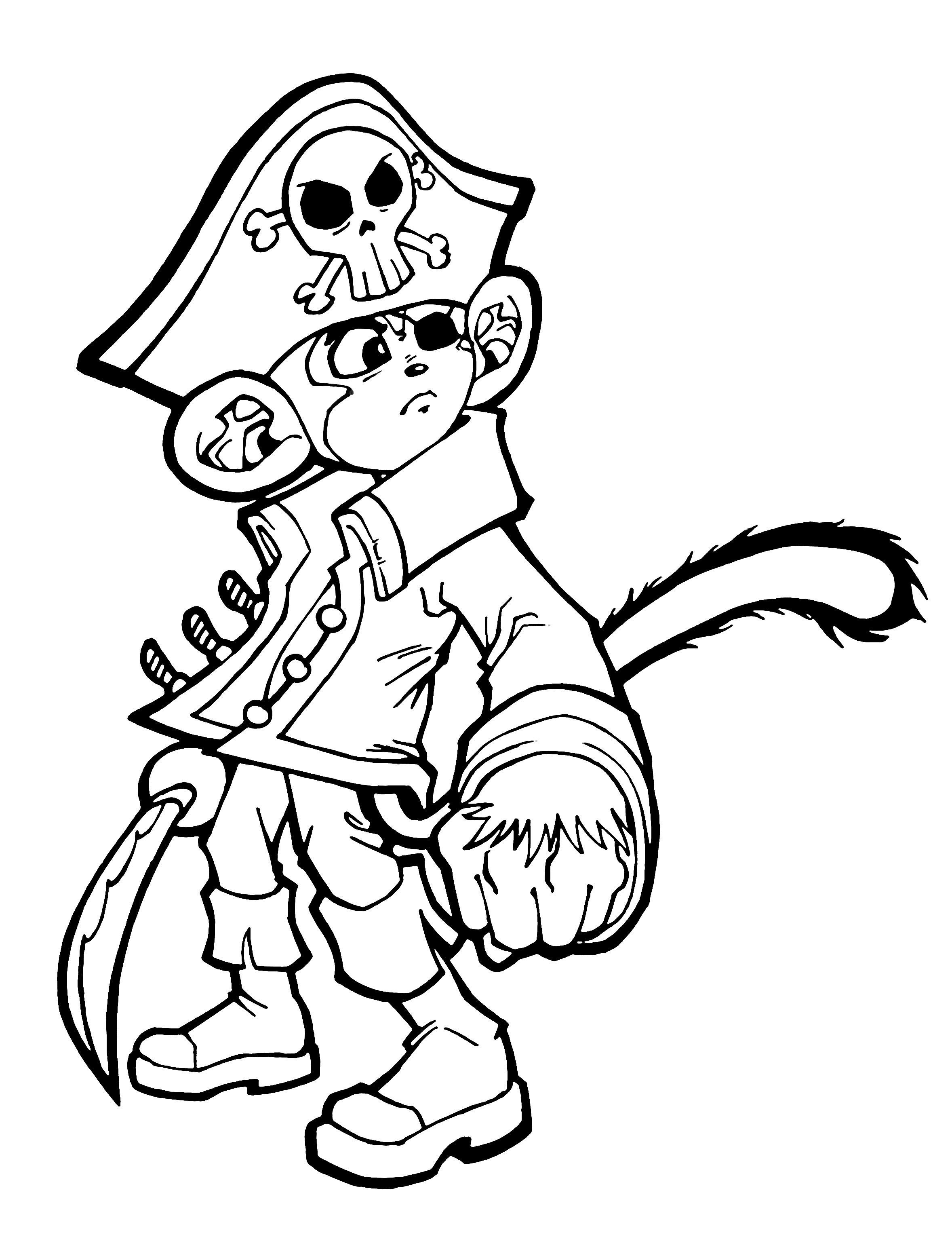2356x3107 Cap'N Chef The Monkey Pirate By Capnchef