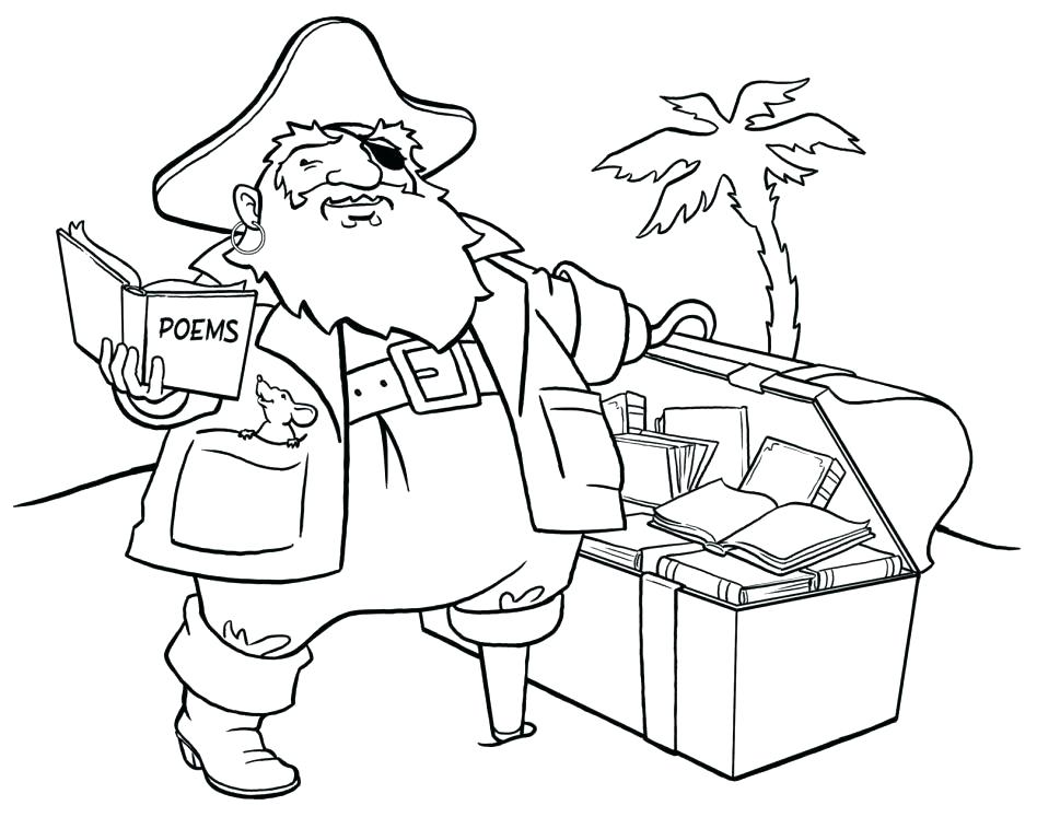 948x747 Pirate Coloring Book Together With Pirate Map Coloring Page Pirate