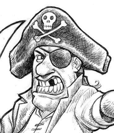 369x432 Postal Pirates!!! Aaaarrrrr! Jaggedsmile