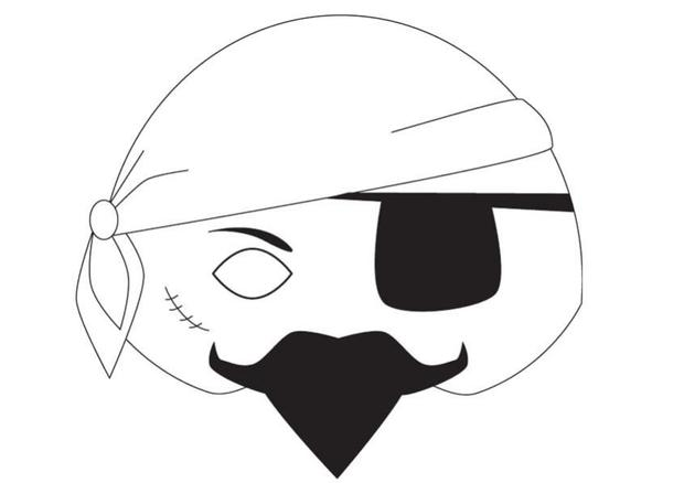pirate face drawing at getdrawings com free for personal use