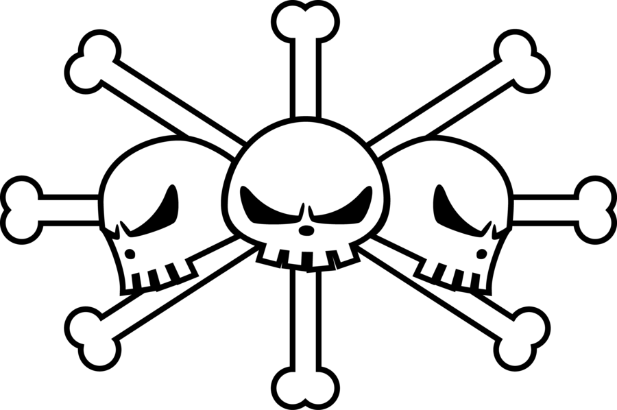 Pirate Flag Drawing