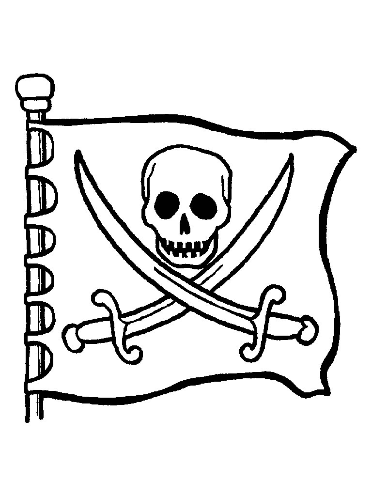 768x1024 Famous Jolly Roger Flag With Its Human Face Skullfrom