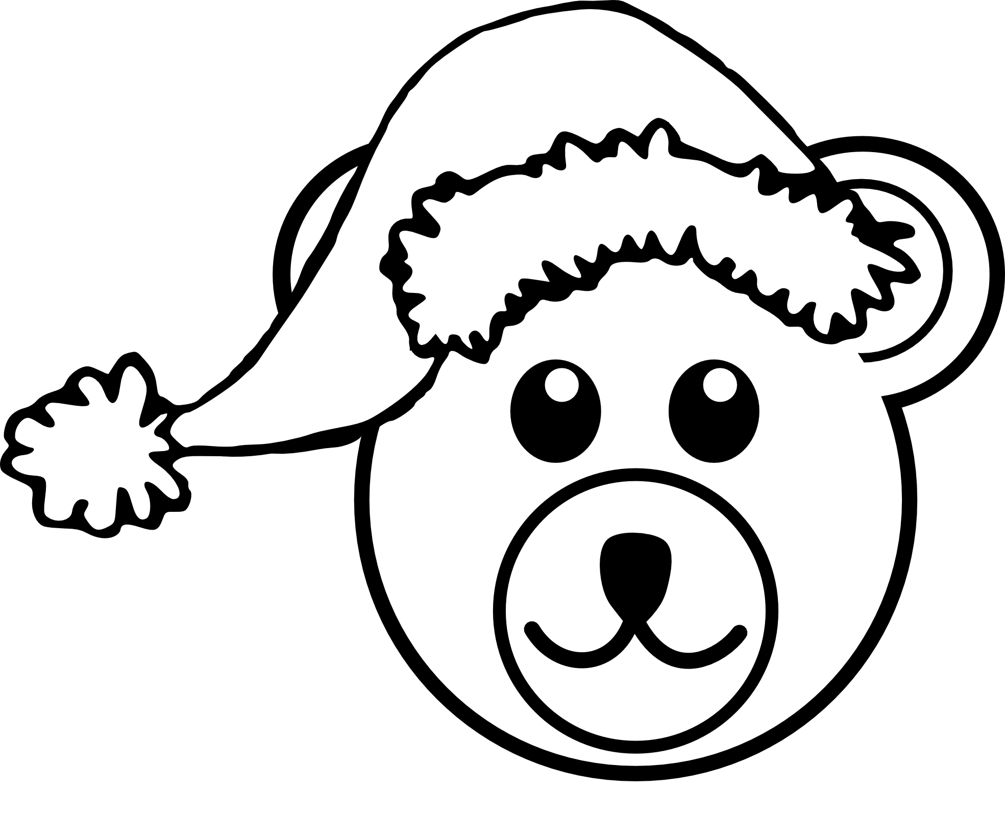 1969x1646 pirate hat clipart black and white clipart panda