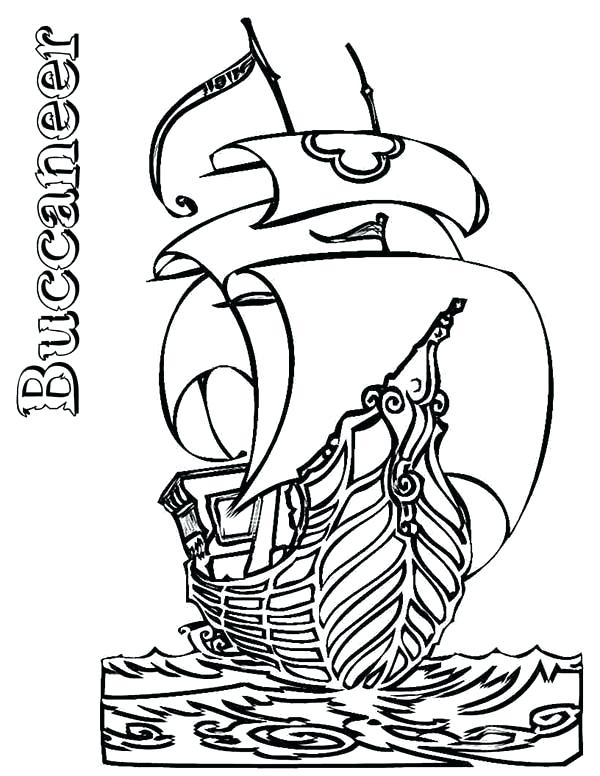 600x776 Pirate Ship Coloring Pages Pirate Ship Boats Buccaneer Coloring